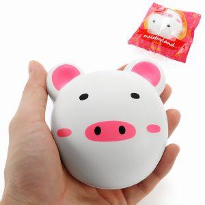 Meistoyland Squishy Piggy Bun 9cm Pig Långsam Rising Med Packaging Collection Present Inredning Mjuk Toy