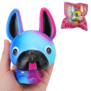 Eric Dog Squishy 12CM Licensierad Super Slow Rising Cream Scented Original Paket Telefon Rem Toy