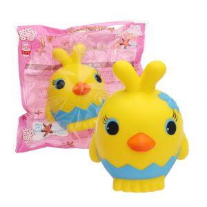 Gula Chick Squishy långsammare doftande leksak gåva samling