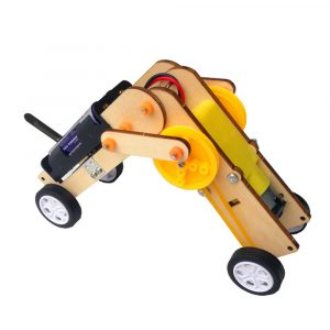 DIY Tiny Bug Little Worm STEAM RC Robot Toy Utbildningssats Present till barn