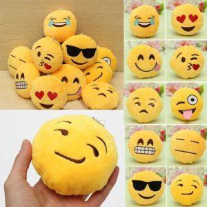 8CM Gulliga Individuality Emoji Expression Key Rings Plysch Keychains