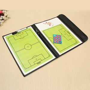 Magnetic Training Fotboll Coaching Board Folder Tactical Kit Soccer Sports