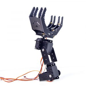 XIAO R 4-DOF Manipulerar Robot Arm Grob Gripper 180 ° Rotation Med 995 Servo