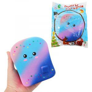 Chameleon Galaxy Bröd Toast Squishy 15cm Kawaii Långsam Rising Med Packaging Collection Present Mjuk Toy