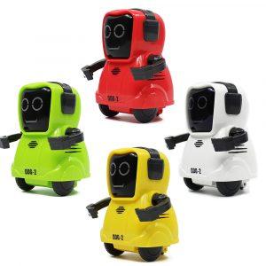 COOBEE Pocket Smart RC Robot inspelningsfunktion Frihjuling 360 ° roterande Arm Robot Toy Present