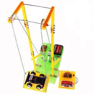 DIY Montering Pedagogiska Leksaker Modell RC Elektrisk Hiss