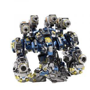 MU Armour Modell Byggnad DIY 3D Pussel Rostfritt Stål Modell Set