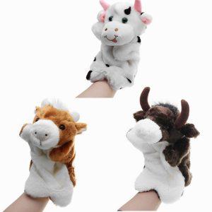 27cm fyllda djurko handduktar klassiska barn figur dockor leksaker plysch