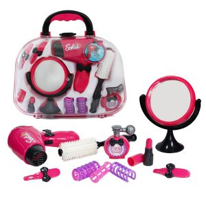 Makeup Leksaker för tjejer Spela Makeup Brushes Set House Play Utvecklings Toy Toy