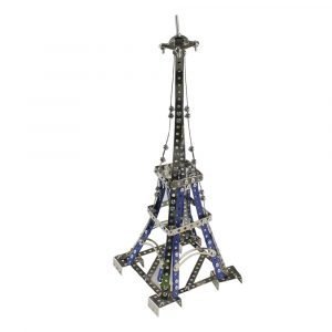 MoFun 3D Metal Pussel Eiffeltornet Modellbyggnad Rostfritt stål Harley Motorcykel 352st