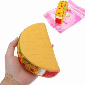 14,5cm Squishy Taco Långsam Rising Mjuk Samling Present Decor Leksaker