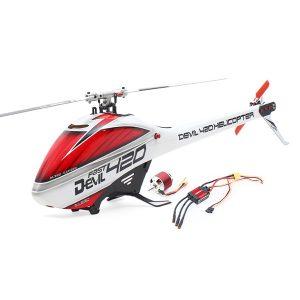 ALZRC Devil 420 Fast FBL RC Helikopter Standard Combo