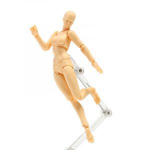 DIY Figma 2.0 Kvinnlig hudfärg Figur Figma Archetype Docka PVC rörlig handmodell Docka Toy