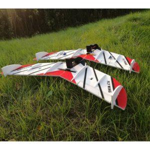 Swallow EPP 800mm Wingspan Fixed Wing FPV RC Flygplansats för Trainer Beginner