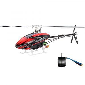 JCZK ASSAULT 450L DFC 6CH 3D Flybarless RC Helikopterpaket med borstlös motor