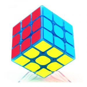 Classic Magic Cube Leksaker 3x3x3 PVC Sticker Block Pussel Speed ​​Cube Dark Luminous