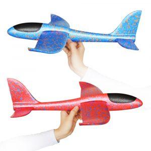 35cm Stor Storlek Hand Lansering Kasta Flygplan Flygplan Glider DIY Tröghetsskum EPP Barn Plane Toy