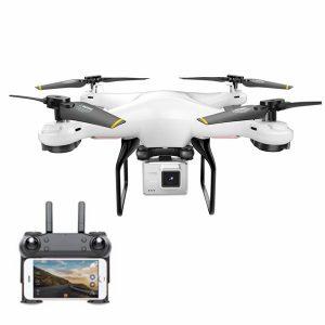DM DM106 WiFi FPV Med 2MP / 0.3MP kamerahöjd håller RC drönare Quadcopter RTF