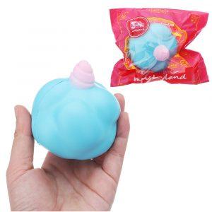 DjurSquishy 8 CM långsammare med Packaging Collection Present Soft Toy