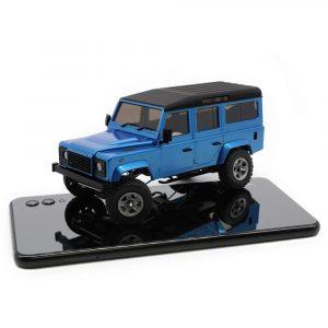 Radiostyrd RC Bil, DIY-kit Oavmålad RC Rock Crawler bil utan elektronisk Delar