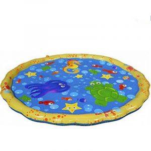 Sommar barnens utomhus spel vatten spel strand mat gräsmatta sprinkler kudde leksaker