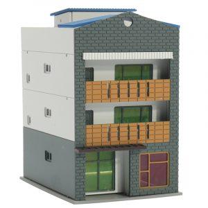 N Scale Gauge 1/144 White 4 Story Kommersiell handel Modellbyggnad GUNDAM Model Scene