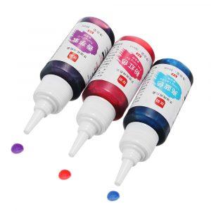 30ML DIY Slime Matfärger Färger Fondant Cake Modell Dekorera Rainbow Cake Bakverk Pastry Tools