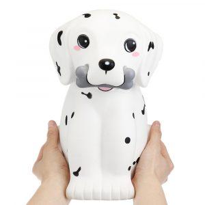 Giggle bröd Giant Squishy Dalmatian Spot Puppy Dog 30cm Lovely DjurJumbo Present Decor Collection