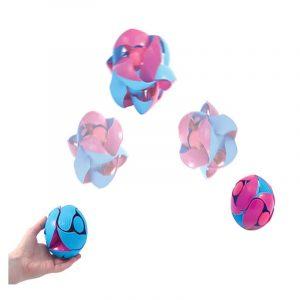 10CM Miljövänlig Färgrik Plastboll Ny Decompression Barnleksaker Födelsedagsgåva