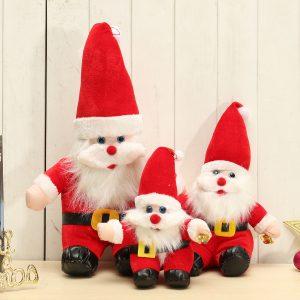 Julen Santa Claus Docka Present Present Xmas Tree Hängande Prydnad Heminredning