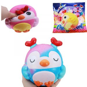 Oriker OWL Squishy 15 * 14 * 12,5 CM långsammare med Packaging Collection Present barn Toy