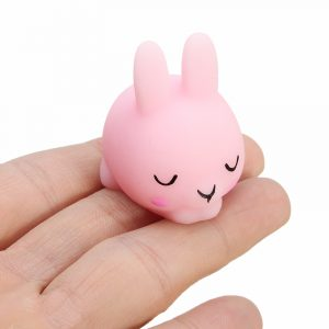 Shy Bunny kanin Mochi Squishy Squeeze Healing Toy Kawaii Collection Stress Reliever Present Inredning