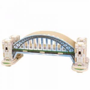 3D- läge Mini- Bygga trä pussel miniatyr modell Blockera Leksaker