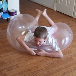 1M Amazing Tear Resistant WUBBLE Bubble Ball Barn Uppblåsbara Leksaker Outdoor Play