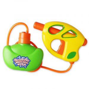 CIKOO Portable Pod Vattenpistol Fun Toy Barn Kvalitet Plast Easy bilry Parent-barn Interaction Leksaker