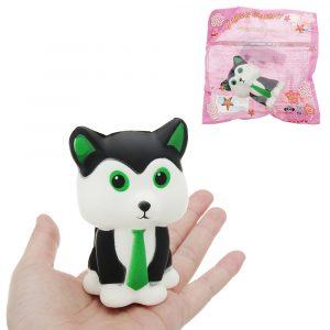 Tie Fox Squishy 15cm långsammare med Packaging Collection Present Soft Toy