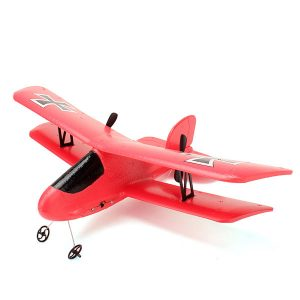 Flybear FX-808 2.4G 2CH EPP Micro Indoor Parkflyers RC Biplan RTF