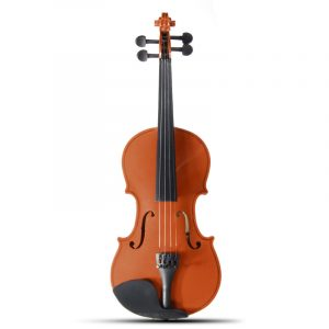 Hantverk 3/4 Basswood Violin Fiddle Alloy Tailpiece Med Multi-Färg