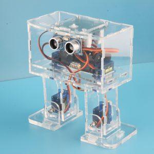 DIY STEAM Arduino Nano Dancing RC Robot Pedagogisk Robot Toy Med Servos