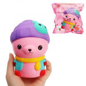 Kaninkatt Squishy 12,5 * 9cm långsammare med Packaging Collection Present Soft Toy
