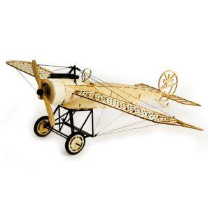 Dancing Wings Hobby Fokker-E 410mm Wingspan Balsa Träplan Statisk Modell Unassembled
