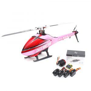 ALZRC Devil 505 Fast Kit RC Helikopter Super Combo Med 120A V4 ESC Pink Version