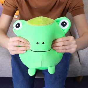 22cm 8.6Inches Stor Squishimal Stor Storleksfylld Groda Squishy Toy Slow Rising Present Collection