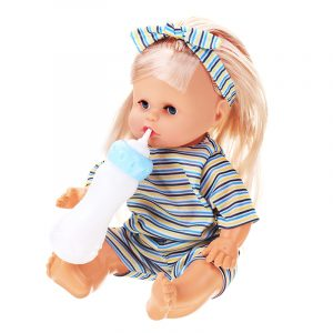 12Inches Lifelike Baby Dockas Smart Med Ljud Drinking Water Peeing Sova Barn Baby Girl Toy