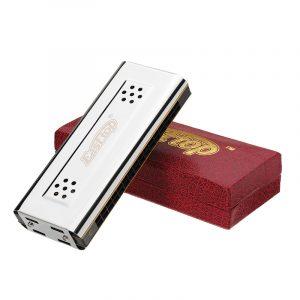 EASTTOP T16-2 16 Hål Harmonica med två sidor Två Tunes C G Key
