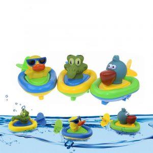 Cikoo Wind Up Bad Toy Gå Along Beach Spela Leksaker Roliga Amphibious Animal