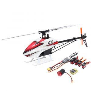 ALZRC X360 FAST FBL 6CH 3D Flying RC Helikopter Super Combo Med Motor ESC Servo Gyro