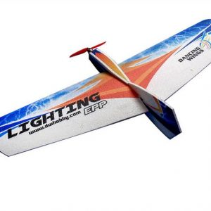 DW HOBBY Lighting 1060mm Wingspan EPP Flying Wing RC Flygplansutbildning KIT