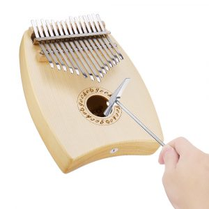 GECKO K15SP 15 tangenter Kalimba Spruce G-ton Thumb Piano Finger With Tune Hammer