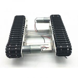 DIY Smart Robot Tank Chassis Bil med Crawler Kit för Arduino Uno R3